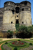 The fortress like Chateau D'Angers dates back to the 13th. century. It was used as a royal residence and home for the Anjou dukes in the 14th. and 15t...
