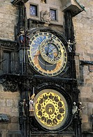 Czech Republic, Prague, city hall, Astronomical clock