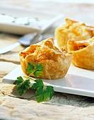 Sauerkraut muffins