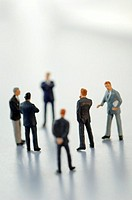 Business men figurines