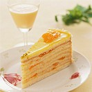 Advocaat gateau with mandarin oranges 2