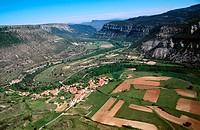 Cañones del Rio Ebro. Pesquera de Ebro. Burgos province. Castilla y Leon. Spain.