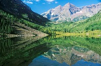 Maroon Lake, Colorado (thumbnail)