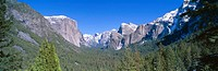 El Capitan and Half Dome in Yosemite