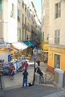 Shopping district, Nice, France