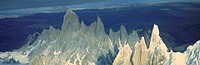 Panoramic aerial view of Patagonia, Argentina