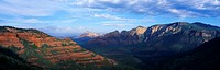 Panoramic View, Sedona, Arizona
