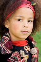 Portrait of young African American