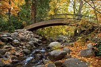 Lithia Park in fall. Ashland, Oregon, USA
