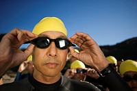 Triathlete Ready for Race