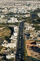 Morocco. Atlantic Coast. Agadir: Condos and Boulevard Mohammed V