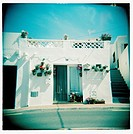 Typical house. Es Grau, Menorca, Baleares, Spain