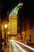 National Theater, Divadelni Street. New town. Prague. Bohemia. Czech Republic