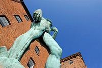 Replica of Michaelangelo´s David, Den Kongelige Afstobningssamling, Copenhagen, Denmark
