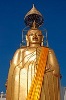 32 m high Buddha, Wat Intharawihan, Bangkok, Thailand