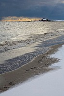Winter coast, Baltic Sea, Aland