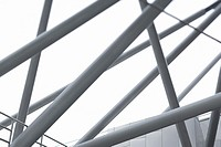 Architectural detail, metal bars (thumbnail)