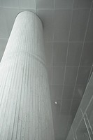 Architectural detail, concrete column