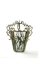 Art-Nouveau-style lamp
