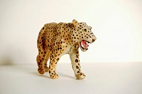 Toy leopard, close-up