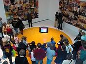 Art opening, art exhibition, art gallery, Kiel, Schleswig-Holstein, Germany.