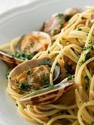 Spaghetti Vongole Bianco
