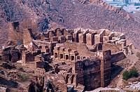 Ruins of monastery, Takht Bahai Monastery, Pakistan