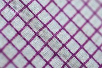 Close-up of a checked fabric