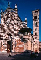 europe, italy, tuscany, prato, cathedral