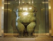 Female torso. 1982. Fernando Botero. New York