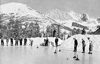 sport, giochi su ghiaccio, alto adige, val gardena
