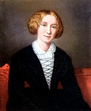 George Eliot 1819-1880 pen name of Mary Ann Evans  English novelist of great stature  Author of ´Adam Bede´, ´Silas Marner´, ´The Mill on the Floss´, ...