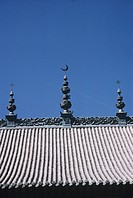 China, Gansu Hui Prefecture, Mosque, high section