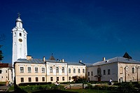 Kremlin buildings. Bell tower (XVIIth c.) Novgorod the Great. Russia