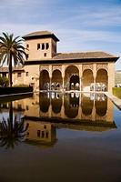 Torre de las Damas. Alhambra. Granada. Andalusia. Spain