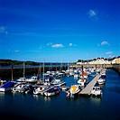 Port Dinorwig in Gwynedd, Wales