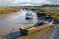 Thornham Harbour. Norfolk. UK