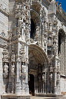 Monastery of the Hieronymites. Belem. Lisbon. Portugal