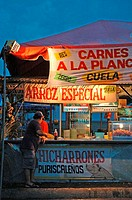 Costa Rica, Puerto Limon, during carnival, sandwiches (thumbnail)