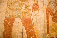 Sudan, Khartum, National Museum, ancient painting