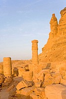 Sudan, Eastern Sahara, the archeological site of Djebel Barkal