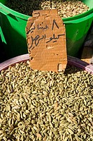 Jordan, Aqaba, the souks, spices (thumbnail)