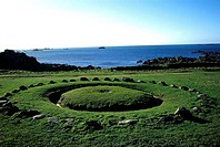 Channel Islands, Guernsey, Fairy ring, neolithic site