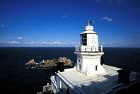Channel Islands, Sark, Pointe-Robert lighthouse