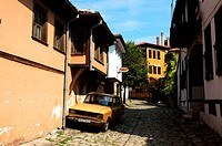 Bulgaria, Plovdiv, old city, lane