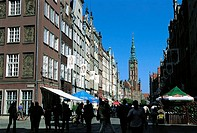 Poland, Gdansk, downtown