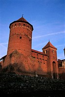 Poland, Masuria Region, Reszel, castle