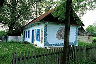 Poland, Zalipie, housepainted (thumbnail)