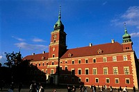 Poland, Warsaw, old city, royal castle