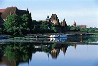 Poland, Malbork, castle